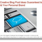 What to Write on Your Blog