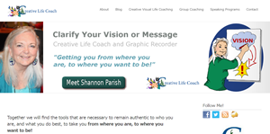 Shannon Parish, Creative Life Coach