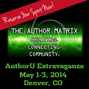 Author U Extravaganza May 1-3, 2014