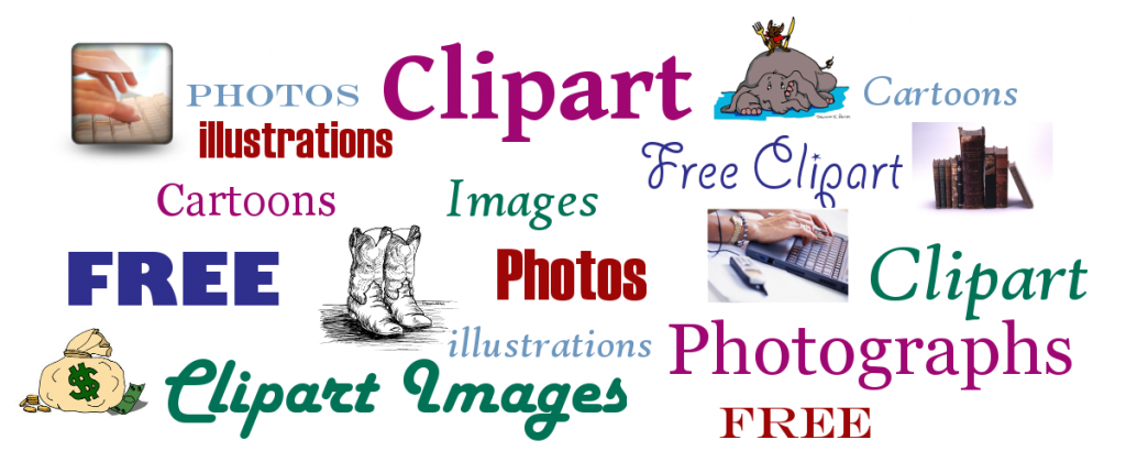 Here's a great list of FREE Photo and Clipart resources